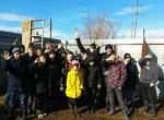 Благодарим ребят из школы-интерната села Обшаровка